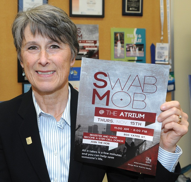 Swab Mob events target optimal stem cell donors – Sooke News Mirror