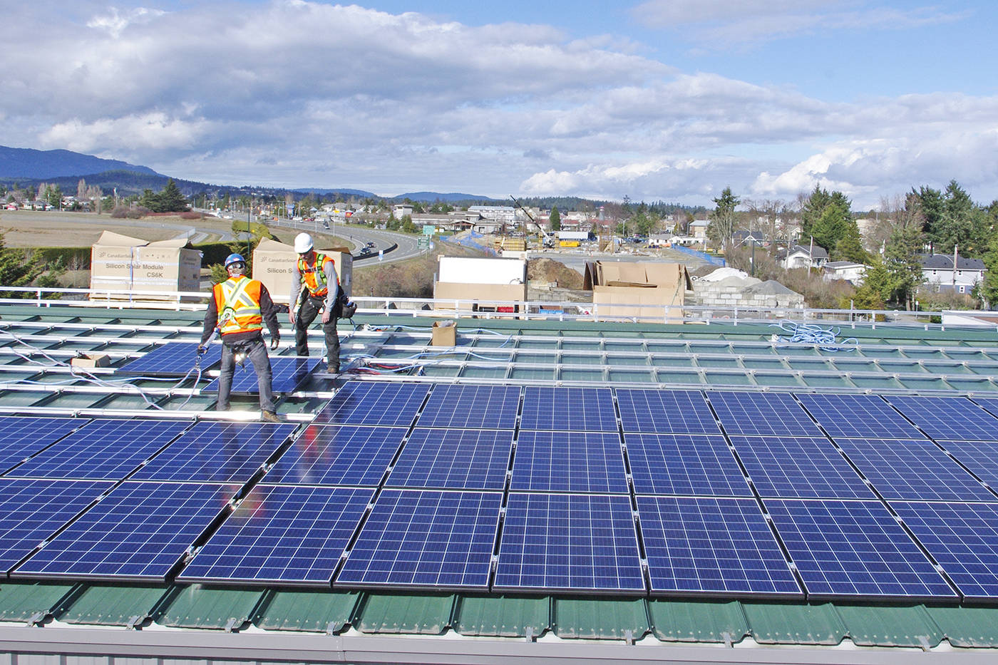 Councillor wants all future homes in Saanich to be solar