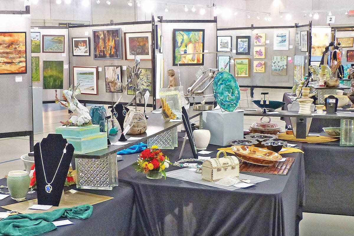 6319ed0e4d9 Sidney arts show features hundreds of pieces for sale – Sooke News ...