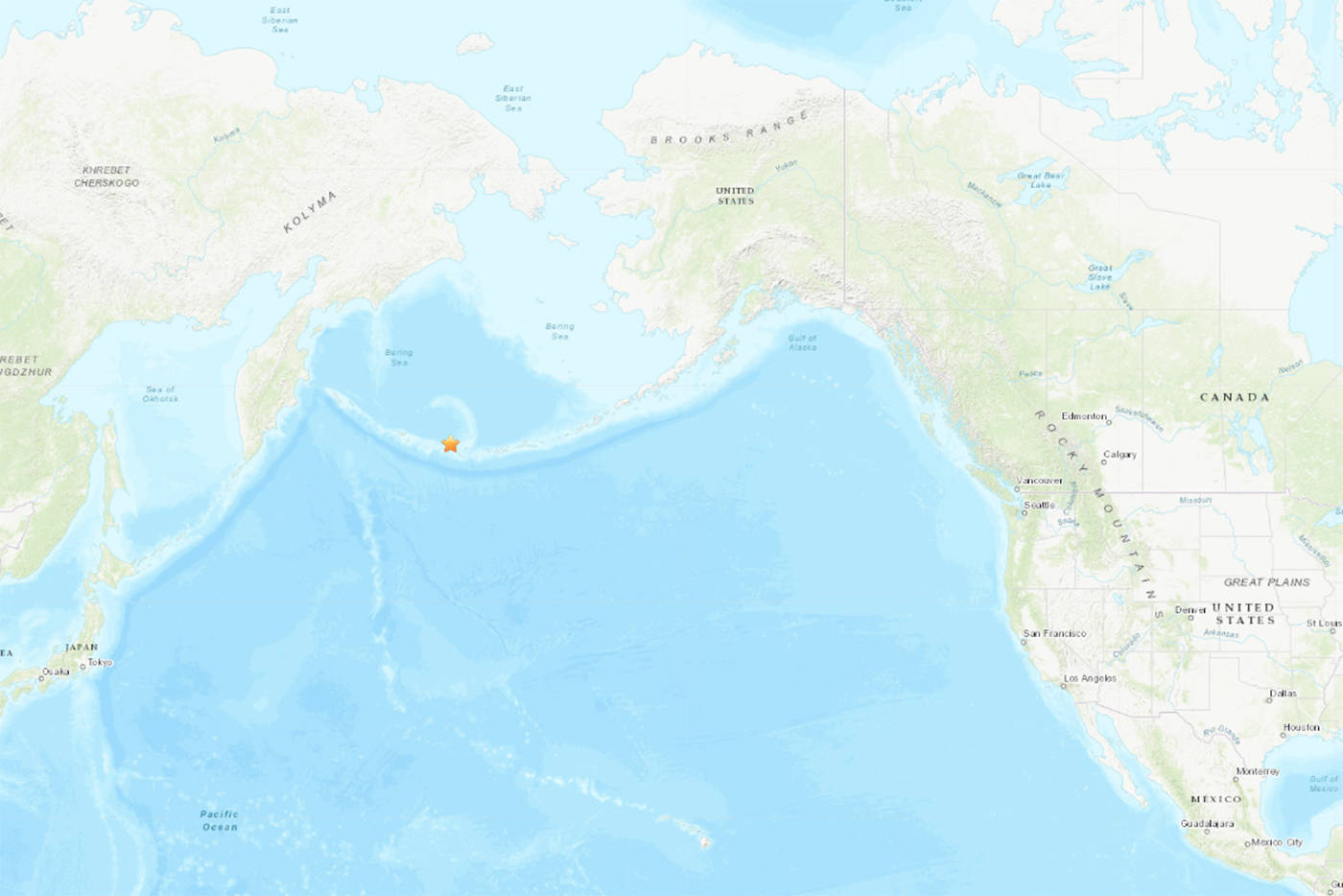 new styles 566e3 34b70 Tsunami not expected for B.C. after largest earthquake to strike U.S. in  2019