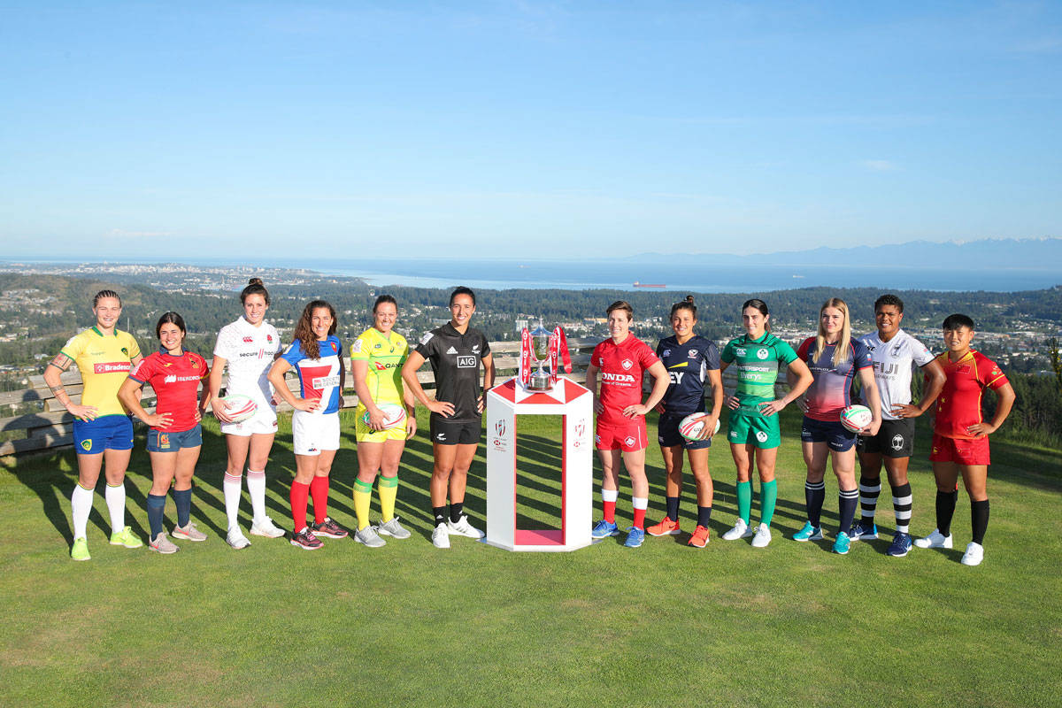 Women's Rugby Sevens captains gather in Langford ahead of