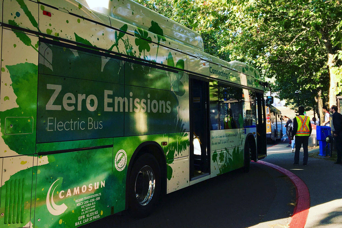 Camosun students, staff can now take the Westshore Commuter